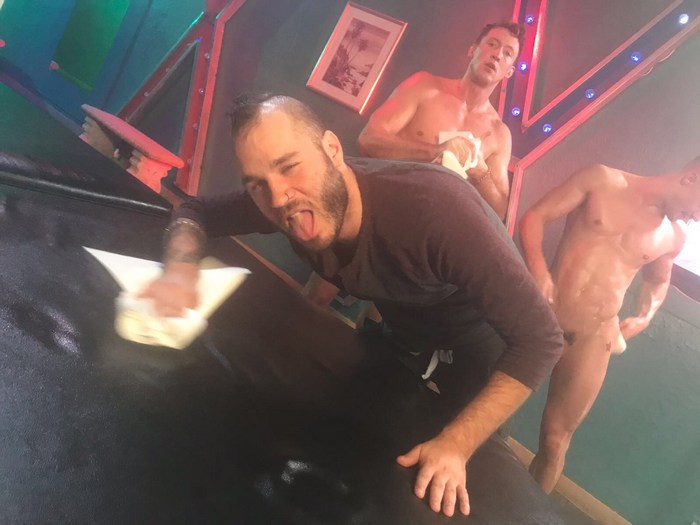 Pierce Paris Skyy Knox Gay Porn Behind The Scenes