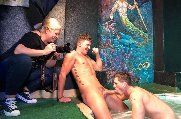 Roman Todd JJ Knight Gay Porn Behind The Scenes Sex Club Las Vegas