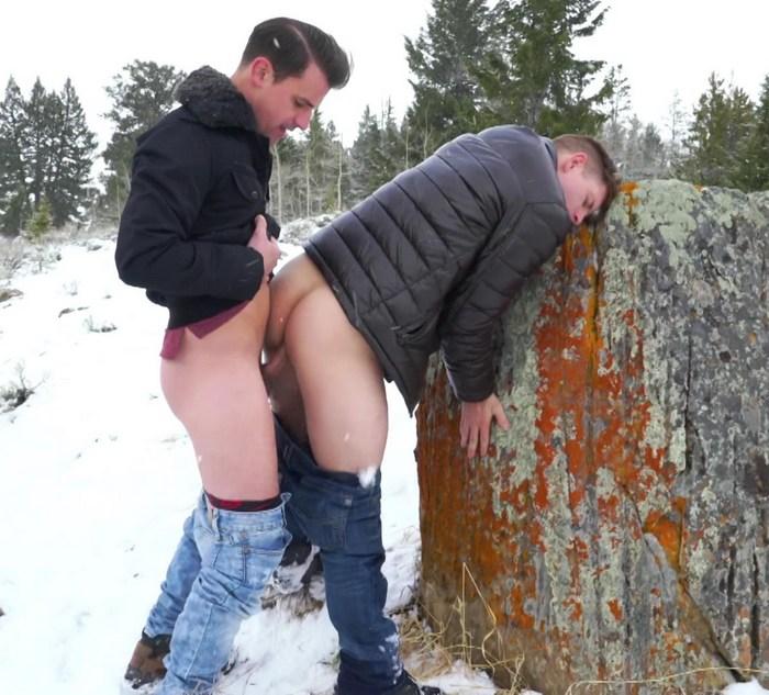 Sean Cody Gay Porn Dean Malcolm Bareback Sex Outdoor Snow