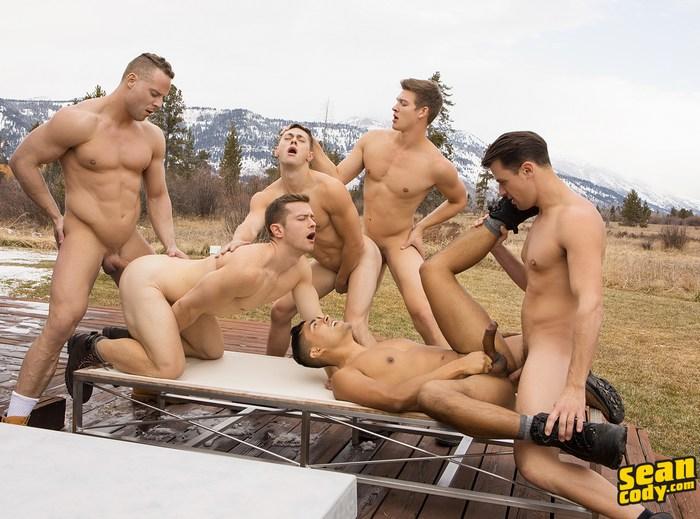 Sean Cody Orgy Gay Porn Bareback Sex Jack Deacon Asher Lane Dillan Malcolm