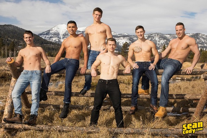 Sean Cody Wyoming Getaway Gay Porn Stars Malcolm Asher Dillan Deacon Lane Jack