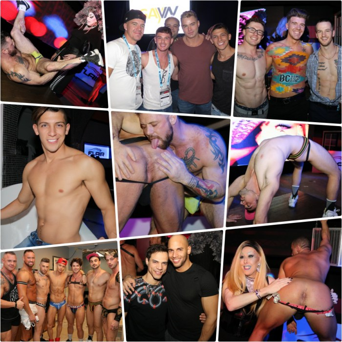 Gay Porn Stars at GayVN Party 2018