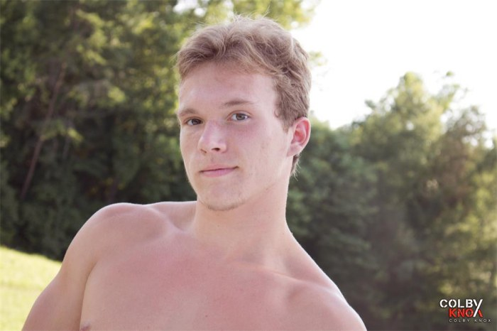 Luke Roman Gay Pon Star Naked ColbyKnox