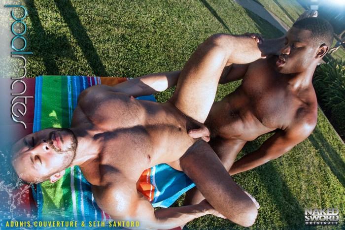 Seth Santoro Gay Porn Adonis Couverture