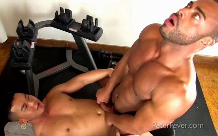 Alex Chu Gay Porn Muscle Bottom Micah Brandt PeterFever