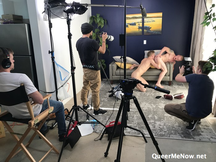 Gay Porn Behind The Scenes Ty Thomas Leo Luckett