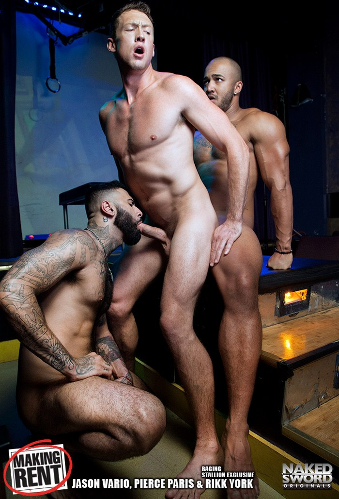 Gay Porn Jason Vario Pierce Paris Rikk York