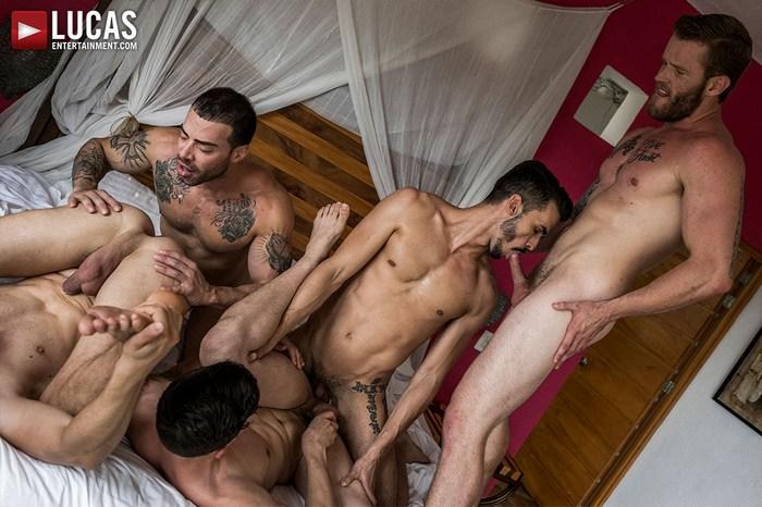Gay Porn Orgy Shawn Reeve Aaden Stark Dakota Payne Damon Heart Carlos Lindo