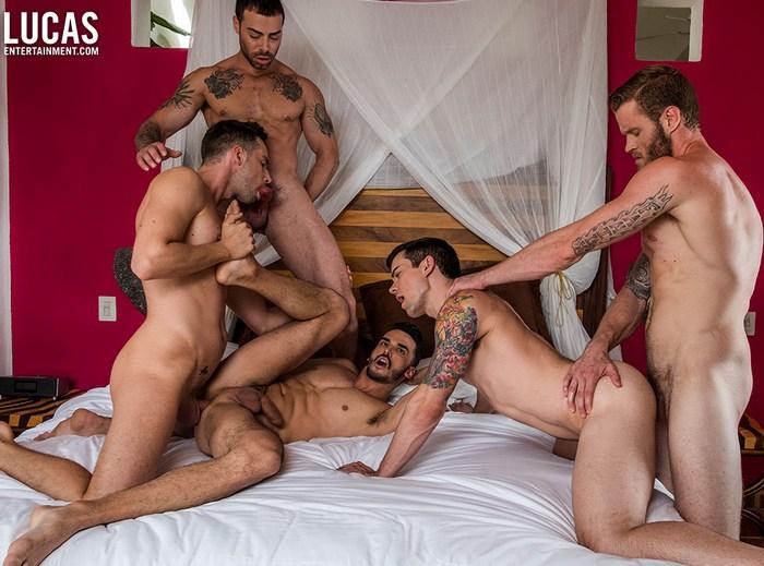 Gay Porn Orgy Shawn Reeve Aaden Stark Dakota Payne Damon Heart Carlos Lindo Bareback Sex
