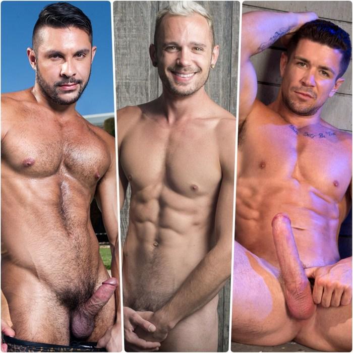 Gay Porn Stars Seth Santoro Trenton Ducati Drake Rogers JustForFans