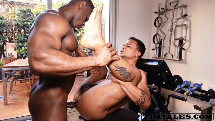 Ridder Rivera Gay Porn Bodybuilder Bareback Sex Cesar Paulino