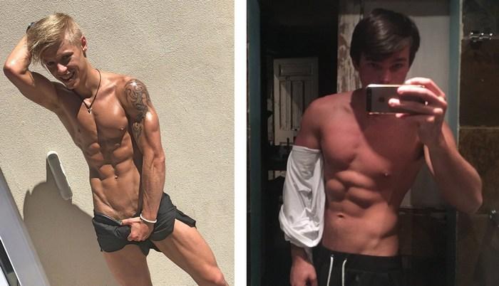 BelAmi Gay Porn Stars Shirtless Behind The Scenes BackInAfrica