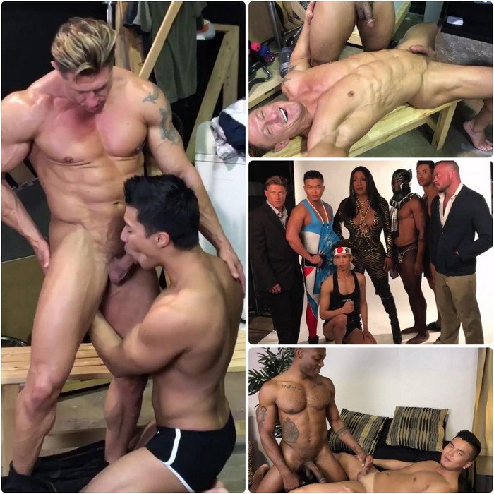 Black Panda Gay Porn Behind The Scenes Ken Ott Bryce Evans Alex Chu Osiris Blade