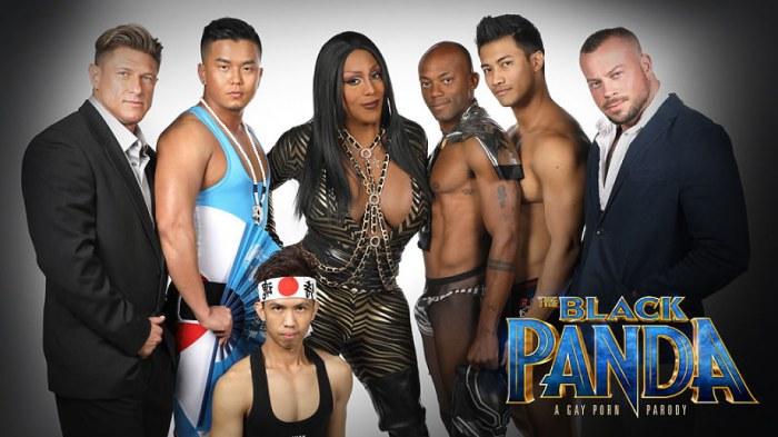 Black Panda Gay Porn Parody PeterFever