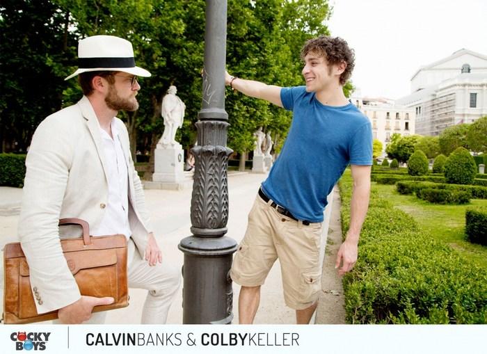 Calvin Banks Gay Porn Colby Keller CockyBoys