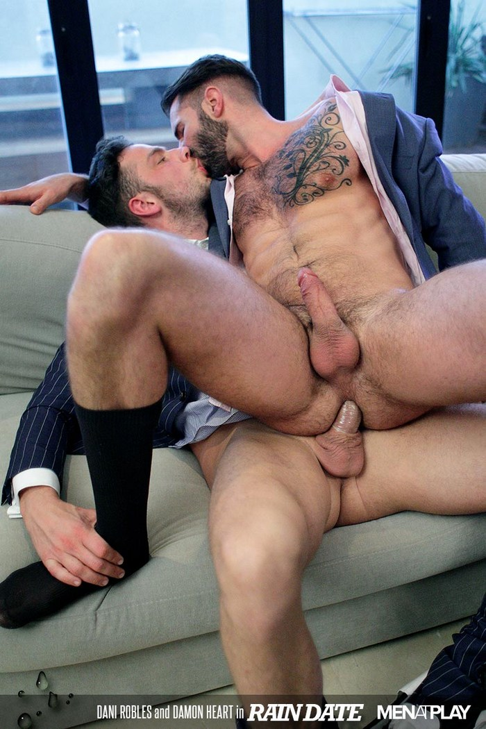 Damon Heart Gay Porn Dani Robles MenAtPlay Suit Sex