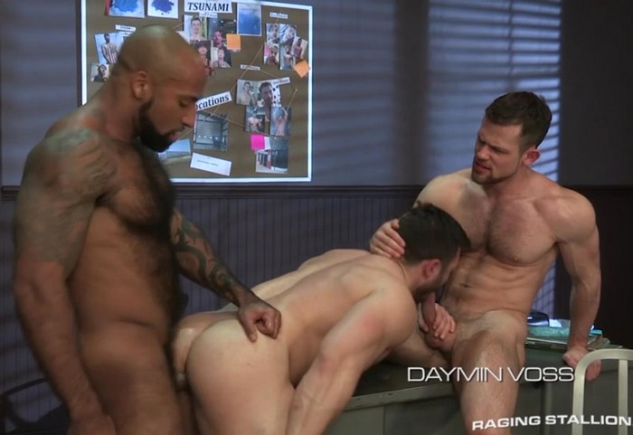 Derek Bolt Gay Porn Daymin Voss Kurtis Wolfe Muscle Bodybuilder Sex