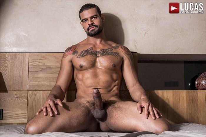 Frank Tyron Gay Porn Star Muscle Hunk Bearded Naked Big Cock