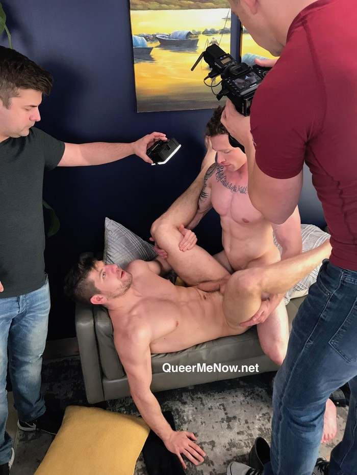 Gay Porn Behind The Scenes Markie More Connor Halstead