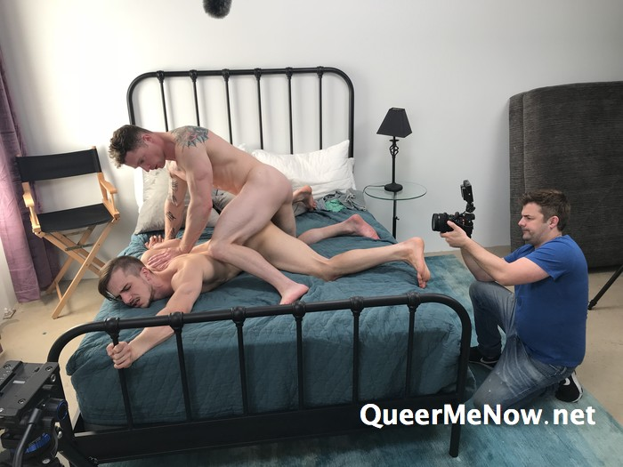Gay Porn Behind The Scenes Markie More Donte Thick