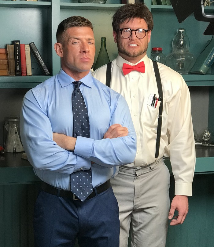 Gay Porn Behind The Scenes Slutty Professor Bruce Beckham Ace Era