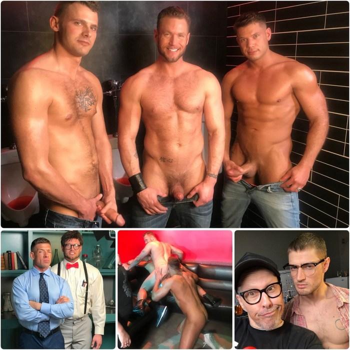 Gay Porn Behind The Scenes Slutty Professor Dave Slick Ace Era Tyler Roberts Bruce Beckham Justin Brody