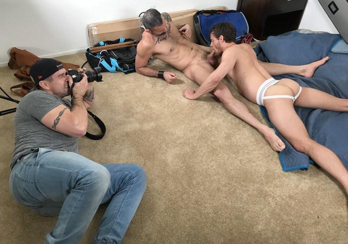 Gay Porn Behind The Scenes Trenton Ducati NastyDaddy Carlos Ventura Nate Grimes
