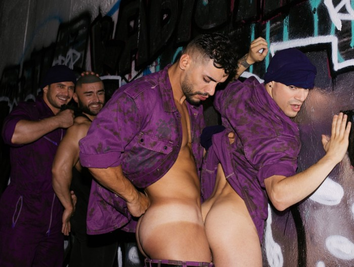 Gay Porn Francois Sagat Dato Foland Arad Winwin Levi Karter Purple Army Faction