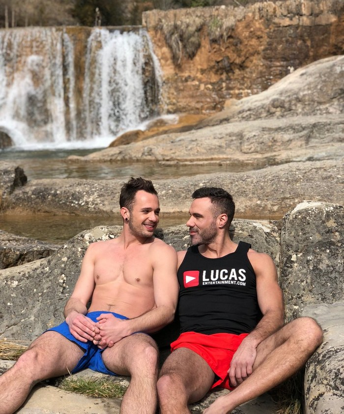 Gay Porn Stars Naked Behind The Scenes Barcelona LucasEnt