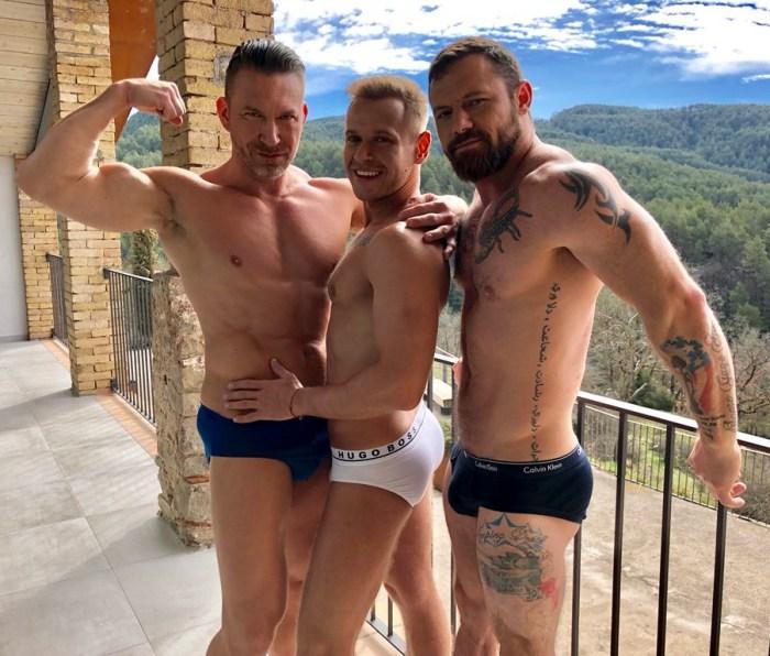 Gay Porn Stars Yuri Orlov Tomas Brand Sergeant Miles