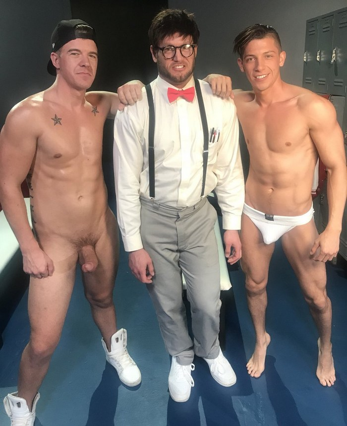 JJ Knight Danny Montero Ace Ear Gay Porn Behind The Scenes Slutty Professor