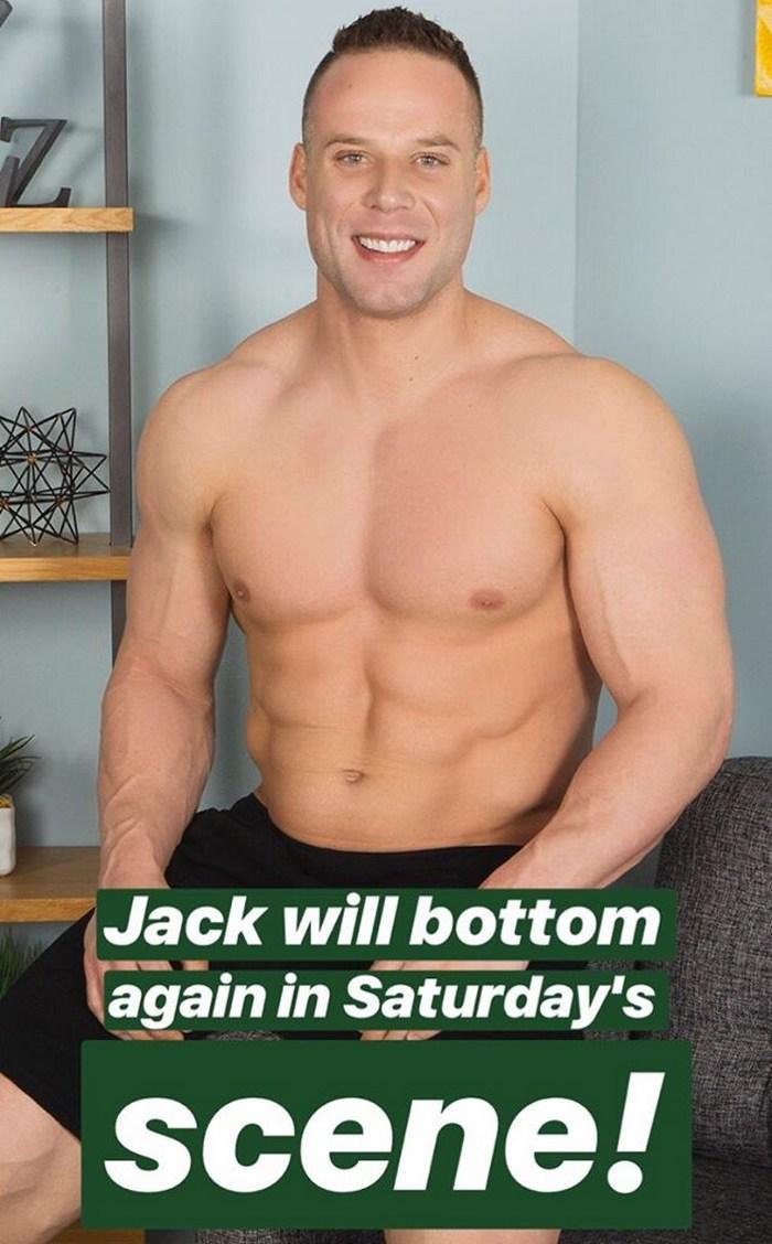 Jack Sean Cody Gay Porn Star Bodybuilder Bottom Again Smile