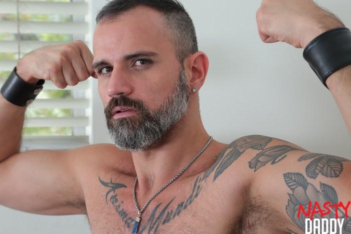 Nate Grimes Gay Porn Carlos Ventura Bareback Sex NastyDaddy