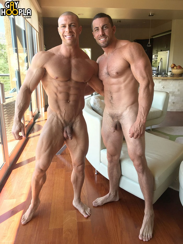 VR Gay Porn GayHoopla Sean Costin Derek Jones Bodybuilder Sex