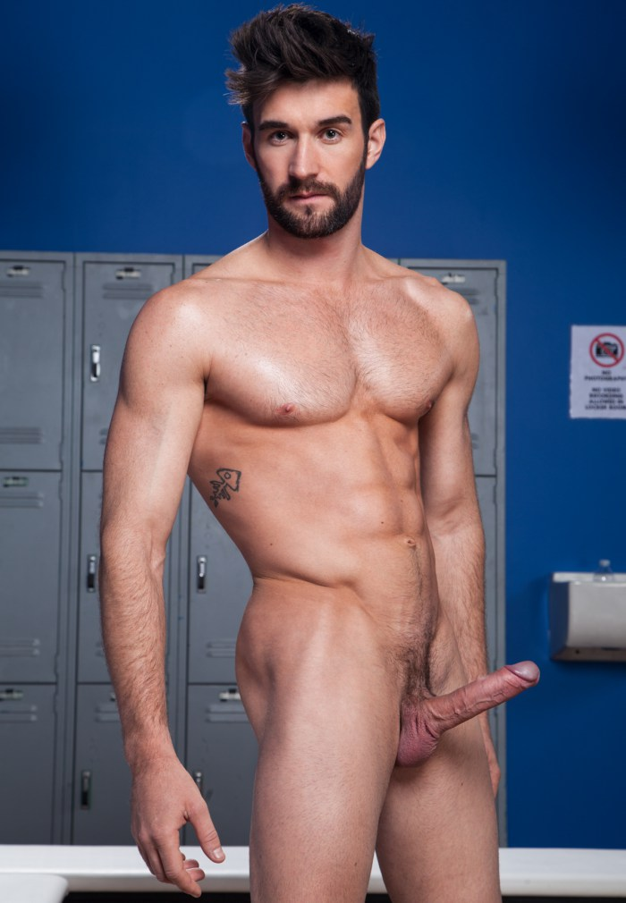Woody Fox Gay Porn Star Naked Big Cock