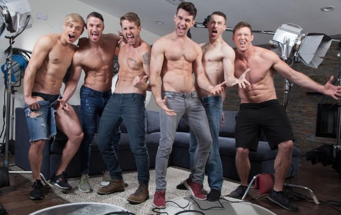 Woody Fox Skyy Knox Wesley Woods Alam Wernik Skyy Knox Pierce Paris ZACK AND JACK MAKE A PORNO