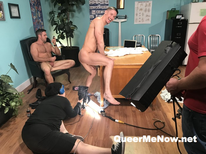 Alex Mecum Skyy Knox Gay Porn Behind The Scenes