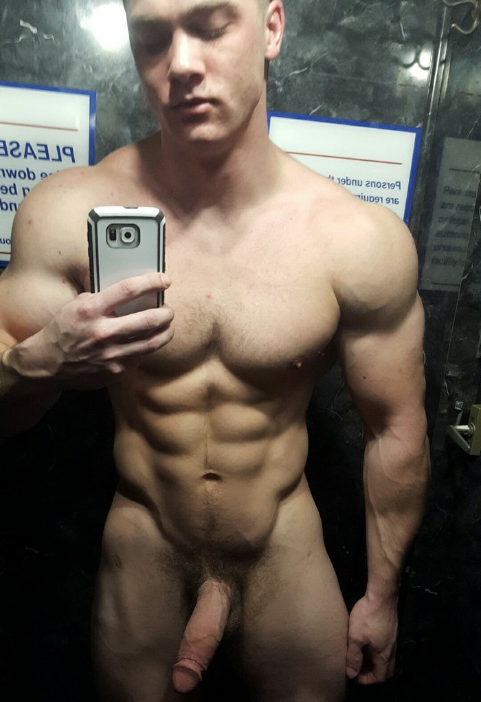 Collin Simpson Gay Porn Star Naked Selfie Big Cock Muscle