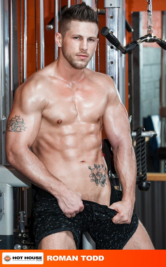 JohnnyV Gay Porn Roman Todd Bodybuilder Muscle Sex