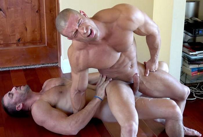 Sean Costin Bodybuilder Bottom Cum Gay Porn Derek Jones GayHoopla