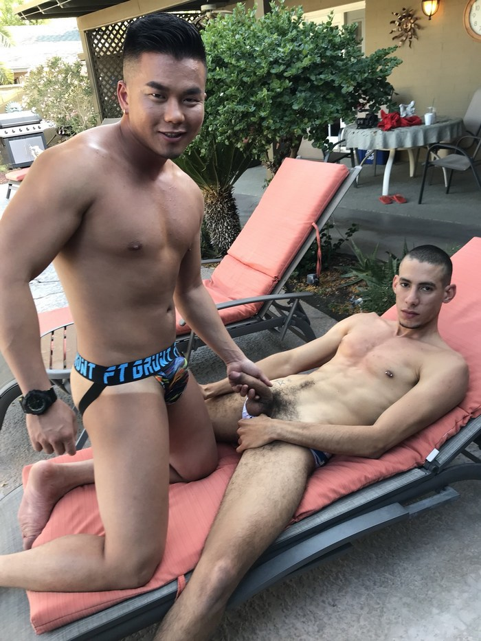 Alex Chu Rica Trujillo Gay Porn PeterFever Behind The Scenes