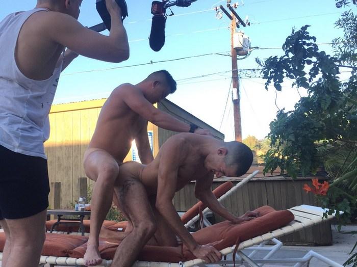 Alex Chu Rica Trujillo Gay Porn PeterFever Behind The Scenes