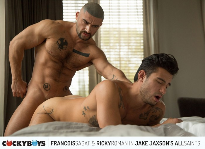 All Saints 3 Gay Porn Francois Sagat Ricky Roman