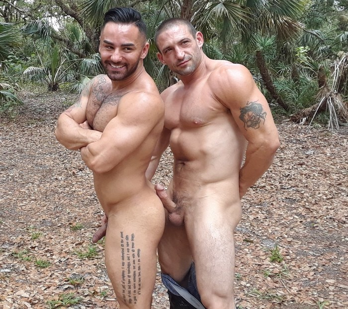 Bruno Bernal Ceasar Camaro Gay Porn Behind The Scenes