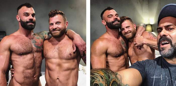 Drake Masters Riley Mitchel Gay Porn Behind The Scenes