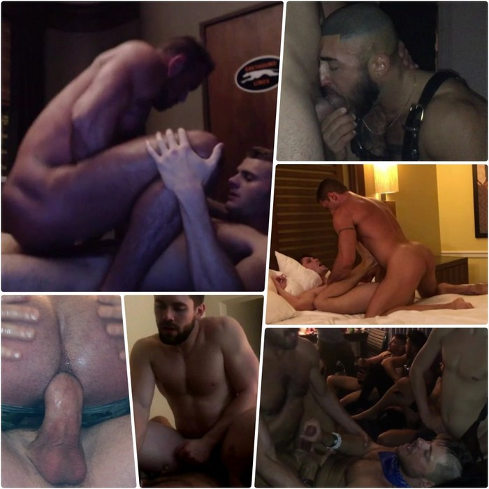 Gay Porn Dave Slick Michael Roman Francois Sagat Griffin Barrows Nick Capra Devin Franco Jack Andy