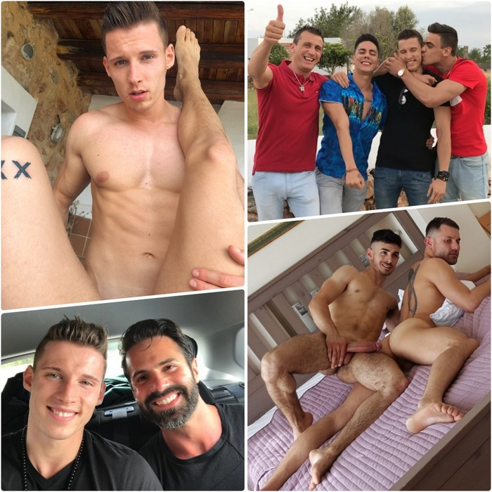 Gay Porn Jon Kael Dani Robles Angel Cruz Joaquin Arrenas Marco James Castle