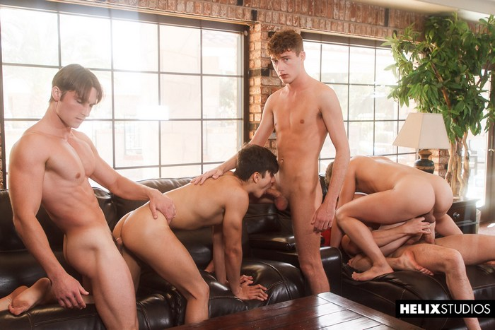 Gay Porn Orgy Josh Brady Joey Mills Corbin Colby Cameron Parks Luke Wilder Angel Rivera