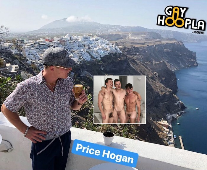 Gay Porn Santorini Price Hogan Adrian Monroe James Manziel GayHoopla