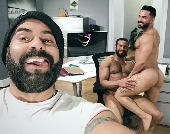 Jay Landford Bruno Bernal Gay Porn Behind The Scenes